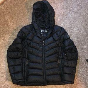 Michael Kors black puffer coat